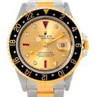 Mens Rolex Watch GMT Gold