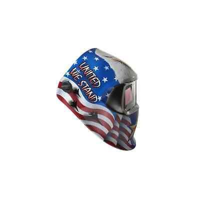 3m 37238 American Pride Speedglas 100 Welding Helmet Auto Darkening Shades 8-12