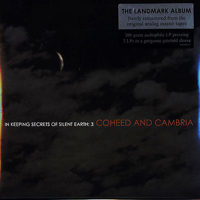 COHEED AND CAMBRIA KEEPING SECRETS OF SILENT EARTH 3 VINYL RECORD NEW SEALED 2LP