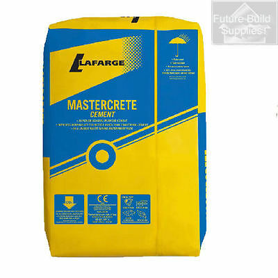 Mastercrete Cement in Plastic Packaging 10 x 25kg Bags