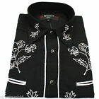 Polyester Big & Tall Western Casual Shirts for Men