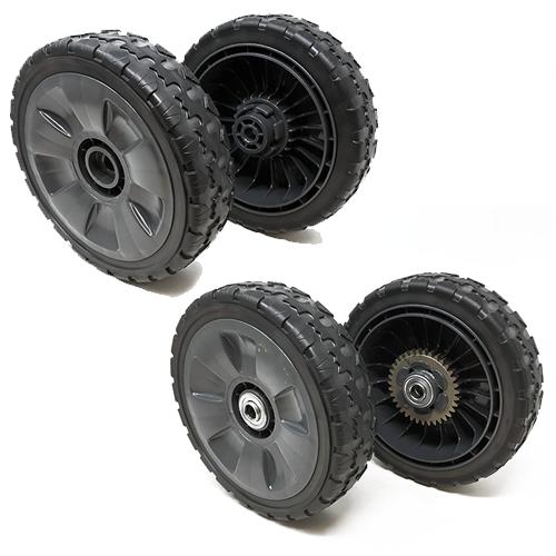 Set of 4 – Genuine Honda HRR216 Wheel Set –