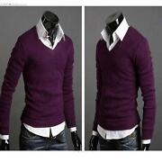 Mens Crew Neck Sweaters