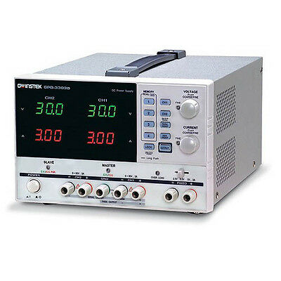 Instek Gpd-3303d Triple-output Dc Power Supply 30v3a X 2 2.5v3.3v5v3a X 1