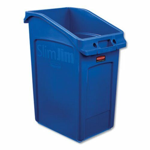 Rubbermaid Commercial Slim Jim Under-Counter Container, Blue (RCP2026725)