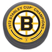 Boston Bruins Stanley Cup Puck