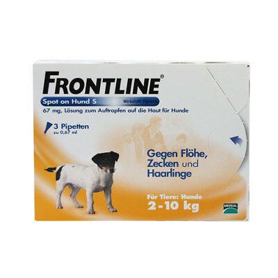 FRONTLINE Spot on H 10 Lösung f.Hunde 3St PZN 00662876