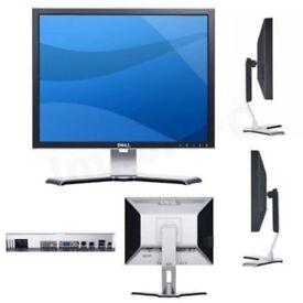 """DELL 2007FPB ULTRASHARP TFT LCD 1600x1200 HD 20"""" MONITOR 4:3 VGA DVI 4 USB"""