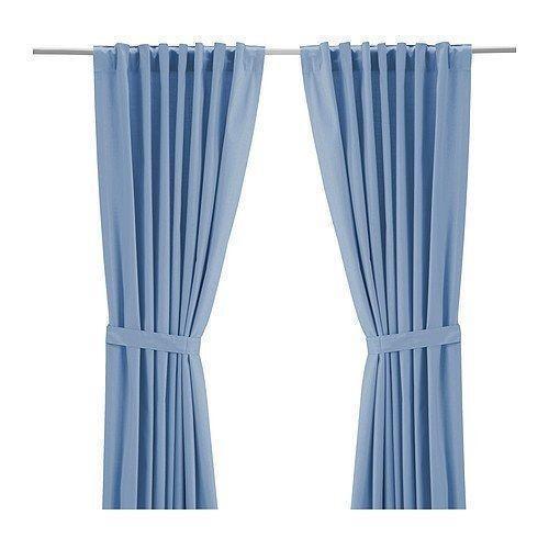 Ikea ritva curtains ebay for Ikea drapes linen