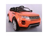 BRAND NEW KIDS BOYS RANGE ROVER EVOQUE STYLE ELECTRIC RIDE ON CAR RRP£200