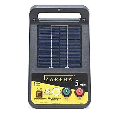 Zareba Esp5m-z 5-mile Solar Low Impedance Charger