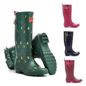 Joules Patterned Wellies & Welly Socks from £15 - 17 different patterns/Colours