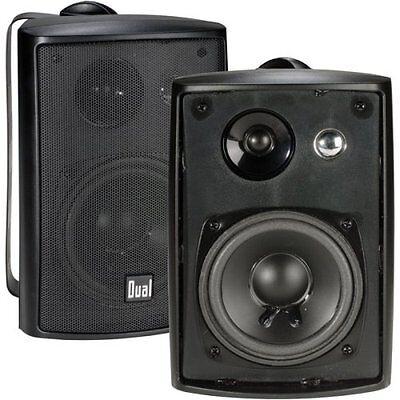 Dual Indoor/Outdoor Speakers Black  (2) , LU43PB Free Shipping Brand New