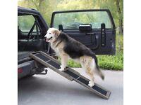 Large fold up dog ramp for sale
