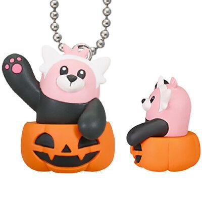 Pokemon Halloween Pumpkin Mascot - BEWEAR Figure Keychain 1.5