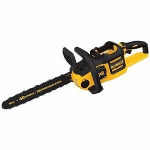"DEWALT DCCS690B 40V Lithium Ion XR Brushless 16"" Chainsaw Bare Tool"