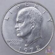 1972 Dollar Coin