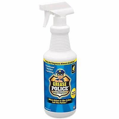 Grease Police Magic Degreaser by BulbHead - Super-Concentrated Degreaser and