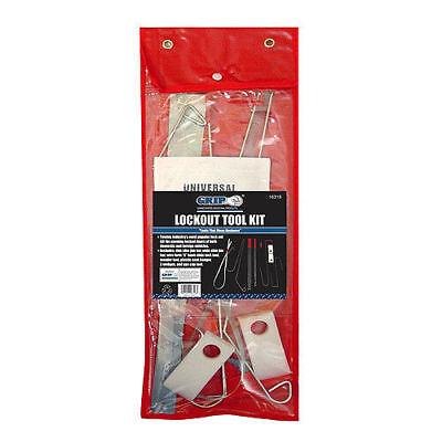 Grip 8pc Lockout Tool Kit Lock Out Car Door Opening Tools Set 16318
