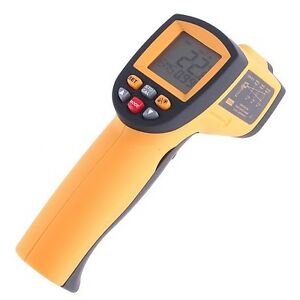Digital IR Infrared Temperature Gun Thermometer Laser Point Non-Contact GM900 UK