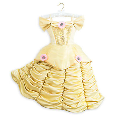 Disney Store Theatrical Deluxe Belle Dress Costume. Size 7/8 NWT FREE SHIPPING - Disney Deluxe Costumes