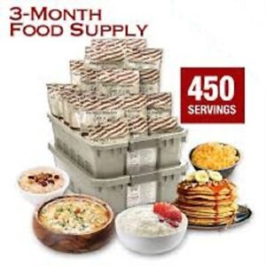 3-Month Food Supply from My Patriot Supply (Over 300.00$ off)