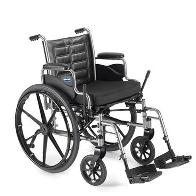 """Invacare Tracer EX2 20x16"""" Wheelchair w/ Desk Length Arms & Footrests TREX20RP"""