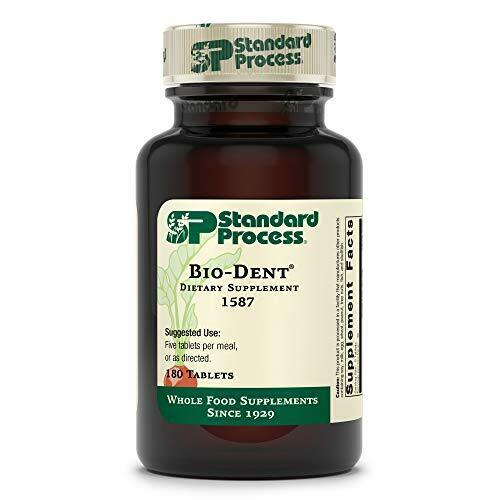 Standard Process - Bio-Dent - 180 Tablets, Supports Growth, Repair of Teeth