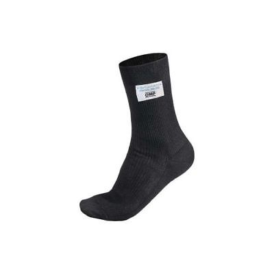 OMP Racing IAA724071M Nomex Medium Socks - SFI3.3 FIA8856-2000, Black (Pair)