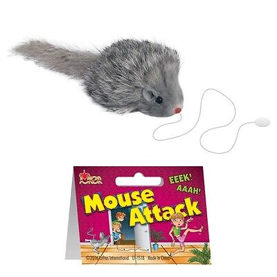 Mouse Attack Funny Practical Joke Gag Gift Prank Trick