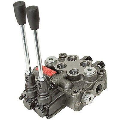 New U.s.a Prince Wolverine 2 Two Spool Hydraulic Valve Mb21bb5c1 8 Gpm 4w3p