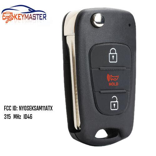 Replacement Remote Key Fob 3B for 2010-2013 Kia Soul 315MHz ID46-NYOSEKSAM11ATx