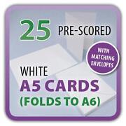 A5 Cream Card