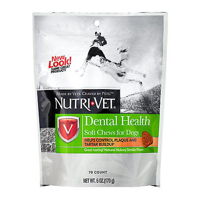 Nutri-Vet Dental Health Soft Chews Dog Treats