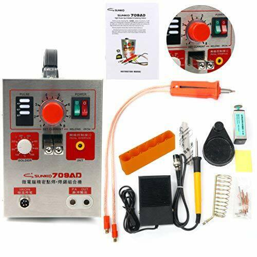 SUNKKO 709AD Pulse Spot Welder Battery Welding and Soldering Machine 2.2KW US