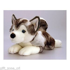 KEEL TOYS Husky DOG STORM - QUALITY Soft Toy 25cm Puppy