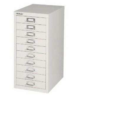 BISLEY - 10 MULTI DRAWER FILING CABINET - BRAND  NEW - GREY