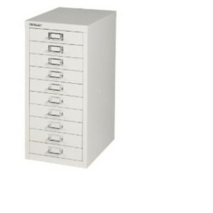 BISLEY-10-MULTI-DRAWER-FILING-CABINET-BRAND-NEW-GREY