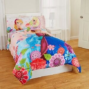 I HAVE 2 FULL TWIN REVERSABLE ELSA AND ANNA COMFORTERS