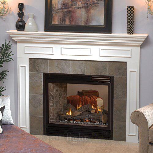 Empire Tahoe Premium 36 Direct-Vent See-Thru Fireplace-Millivolt