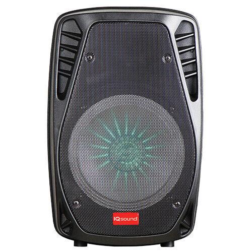 Supersonic IQ Sound IQ-1478DJTWS 8 Rechargeable PA Speaker TWS+USB//SD//AUX//FM//LED+Free Mic