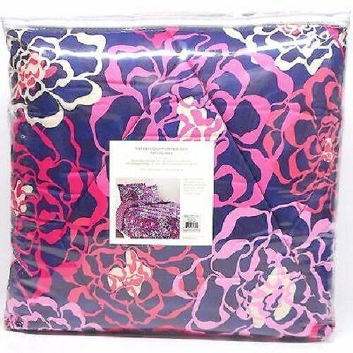 NWT Vera Bradley Sateen Cozy Comforter Set Full/Queen Katali