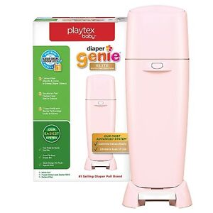 Playtex Diaper Genie Elite - Pink