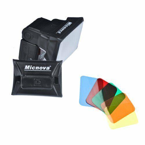 Micnova  Studio Universal Gel Softbox Diffuser 6 Color for External Camera Flash