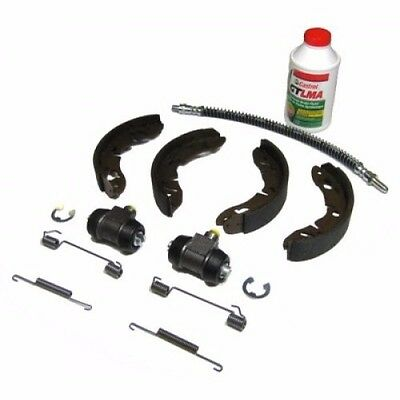 New Rear Brake Kit w/ Shoes Wheel Cylinders Hose Etc. MG Midget Sprite 1963-74