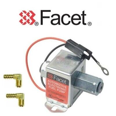 FACET Cubo Bomba de Combustible 40171 12v Eléctrico + Válvula Cierre -KTM950+6mm