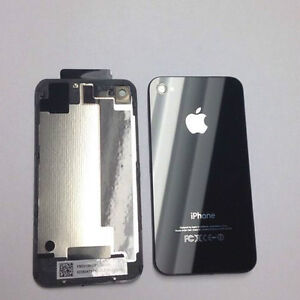 NEW Rear Glass Replacement for iPhone 4s Black - FREE INSTALL