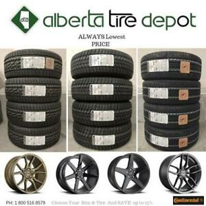 OPEN 7 DAYS UP To 15% SALE LOWEST PRICE 295/40R21 Continental EXTREME CONTACT DWS06 EXTREMECONTACT DWS 06 Tire Rims