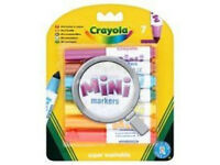 Crayola 7pk Mini Markers (New)