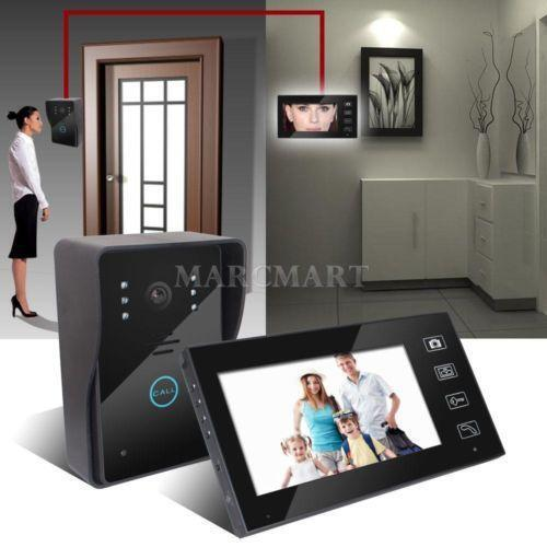 wireless video intercom system ebay. Black Bedroom Furniture Sets. Home Design Ideas